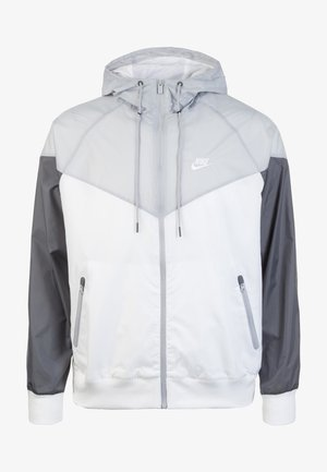 Windrunner - Chaqueta outdoor - white/wolf grey/dark grey