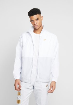 Training jacket - pure platinum/white