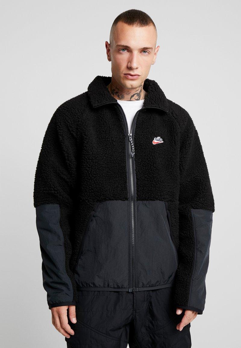 Nike Sportswear - WINTER - Kurtka wiosenna - black/off noir