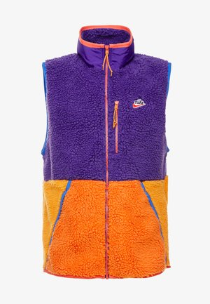 VEST WINTER - Bodywarmer - court purple/kumquat/starfish
