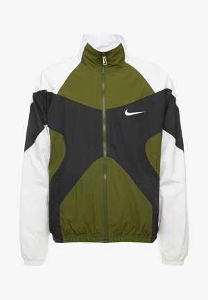 ISSUE  - Veste de survêtement - legion green/white/black