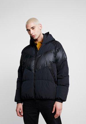 Down jacket - black/black