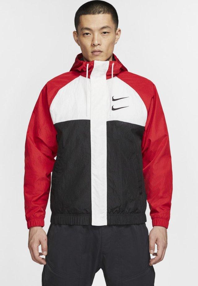 Korte jassen - red/white/black