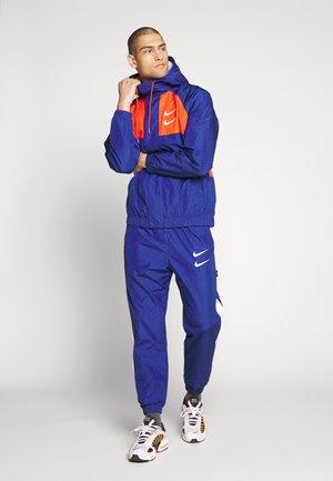 Summer jacket - deep royal blue/team orange/white