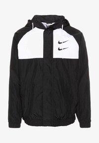 Nike Sportswear - Lehká bunda - black/white/particle grey/(black) - 4
