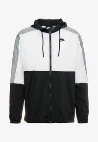 Nike Sportswear - Veste de survêtement - black/white/smoke grey - 4