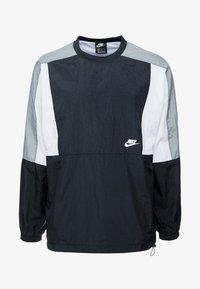 Nike Sportswear - CREW - Sportovní bunda - black/white/smoke grey - 4