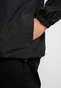 Nike Sportswear - CREW - Sportovní bunda - black/white/smoke grey - 5