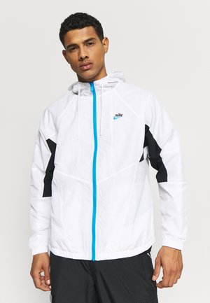 SIGNATURE - Veste de survêtement - white/black/pure platinum
