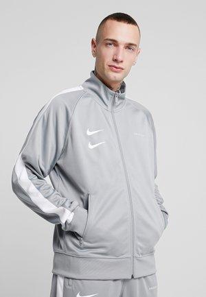 Training jacket - particle grey/white/black