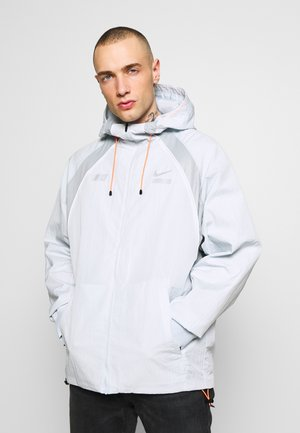 Summer jacket - pure platinum/light smoke grey