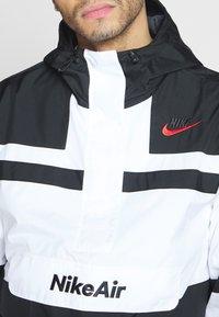 Nike Sportswear - M NSW NIKE AIR JKT WVN - Windbreaker - white/black - 5