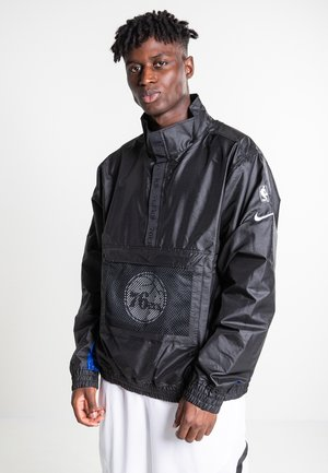 Trainingsjacke - black/black/rush blue/game royal