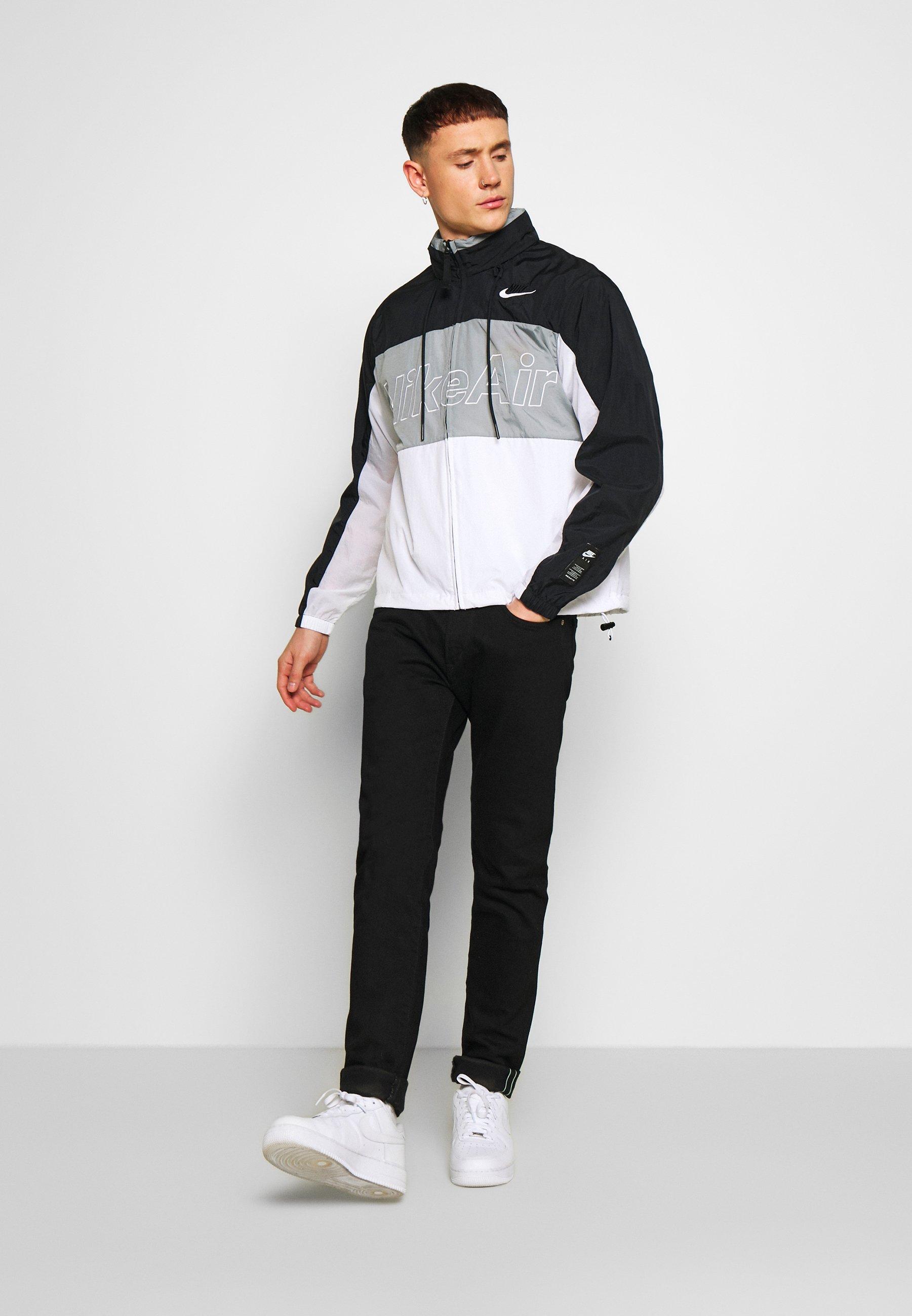 Nike Sportswear Nsw Air - Outdoor Jakke Black/particle Grey/white
