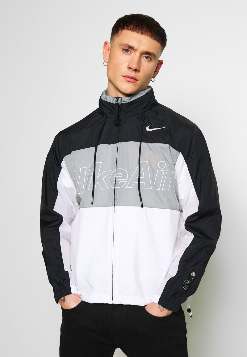 Nike Sportswear - NSW NIKE AIR  - Kurtka Outdoor - black/particle grey/white