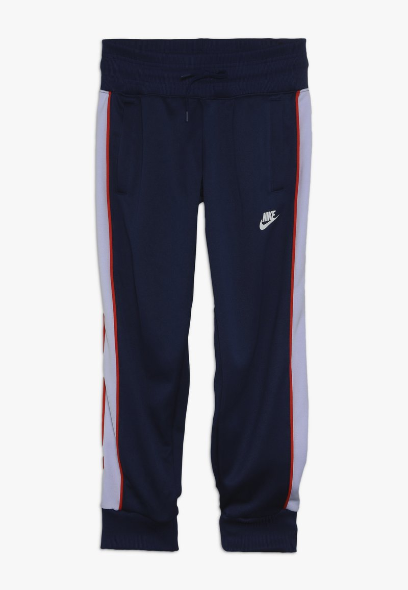 Nike Sportswear - HERITAGE - Pantalon de survêtement - blue void/lavender mist/habanero red/white