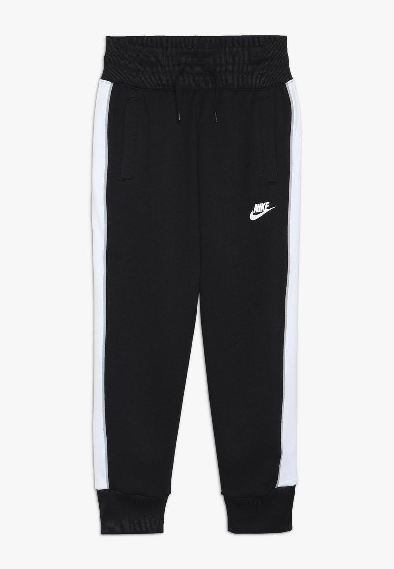 Nike Sportswear - HERITAGE - Trainingsbroek - black/white/wolf grey