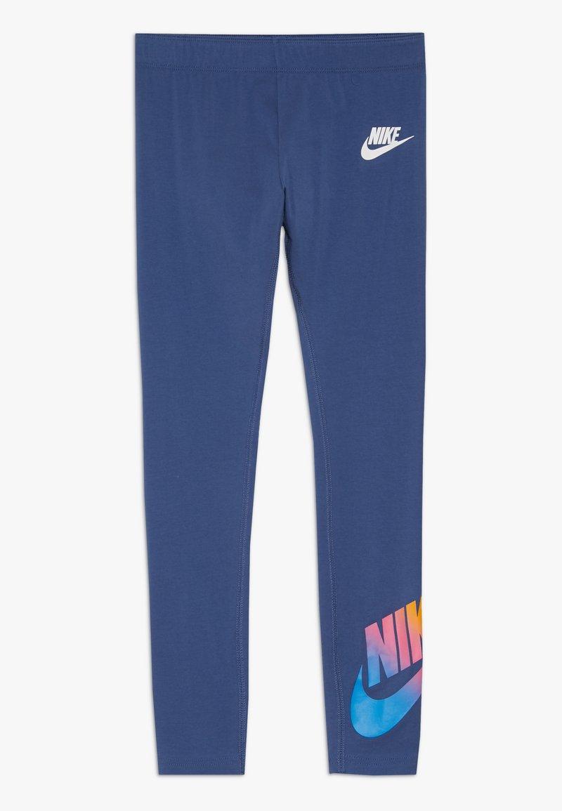 Nike Sportswear - FAVORITES - Leggings - Trousers - mystic navy/white