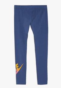 Nike Sportswear - FAVORITES - Leggings - Trousers - mystic navy/white - 1