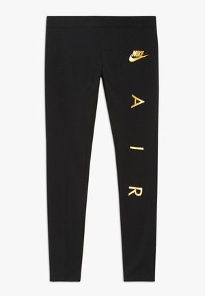 FAVORITES AIR - Leggings - black/metallic gold