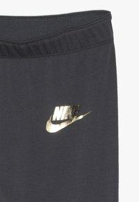 Nike Sportswear - FAVORITES AIR - Legging - dark grey/metallic gold - 3