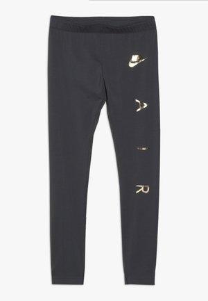FAVORITES AIR - Leggings - dark grey/metallic gold
