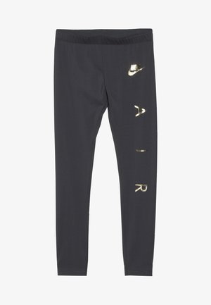 FAVORITES AIR - Legging - dark grey/metallic gold