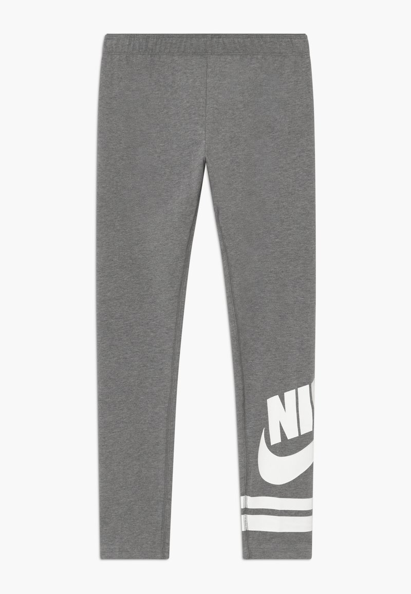 Nike Sportswear - FAVORITE  - Leggingsit - carbon heather/white
