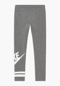 Nike Sportswear - FAVORITE  - Leggingsit - carbon heather/white - 1