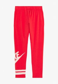 Nike Sportswear - FAVORITE  - Legíny - track red/washed coral - 1