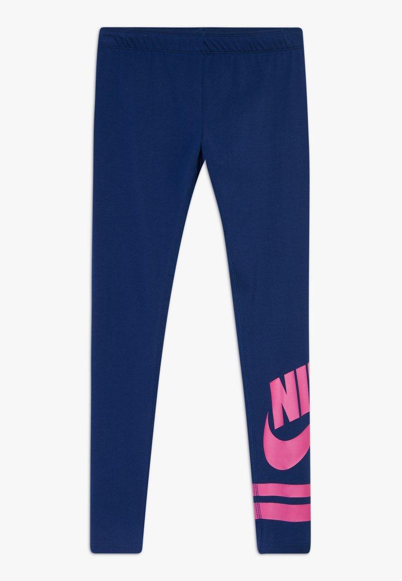 Nike Sportswear - FAVORITE  - Leggingsit - blue void/fire pink