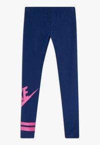 Nike Sportswear - FAVORITE  - Leggingsit - blue void/fire pink - 1