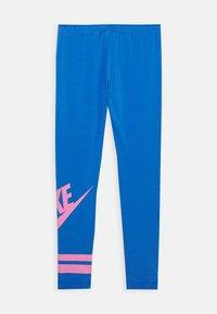 Nike Sportswear - FAVORITE  - Leggings - pacific blue/magic flamingo - 1