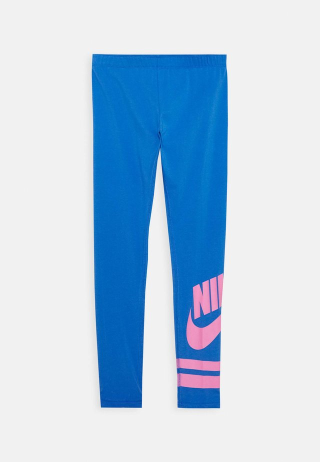 FAVORITE  - Leggings - Trousers - pacific blue/magic flamingo