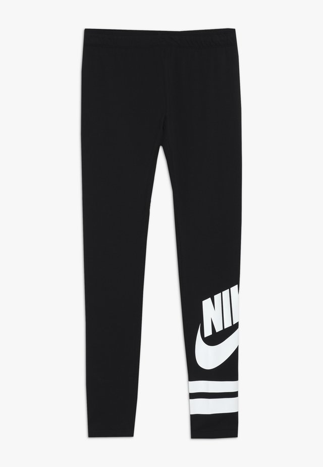 FAVORITE  - Leggings - Trousers - black/white