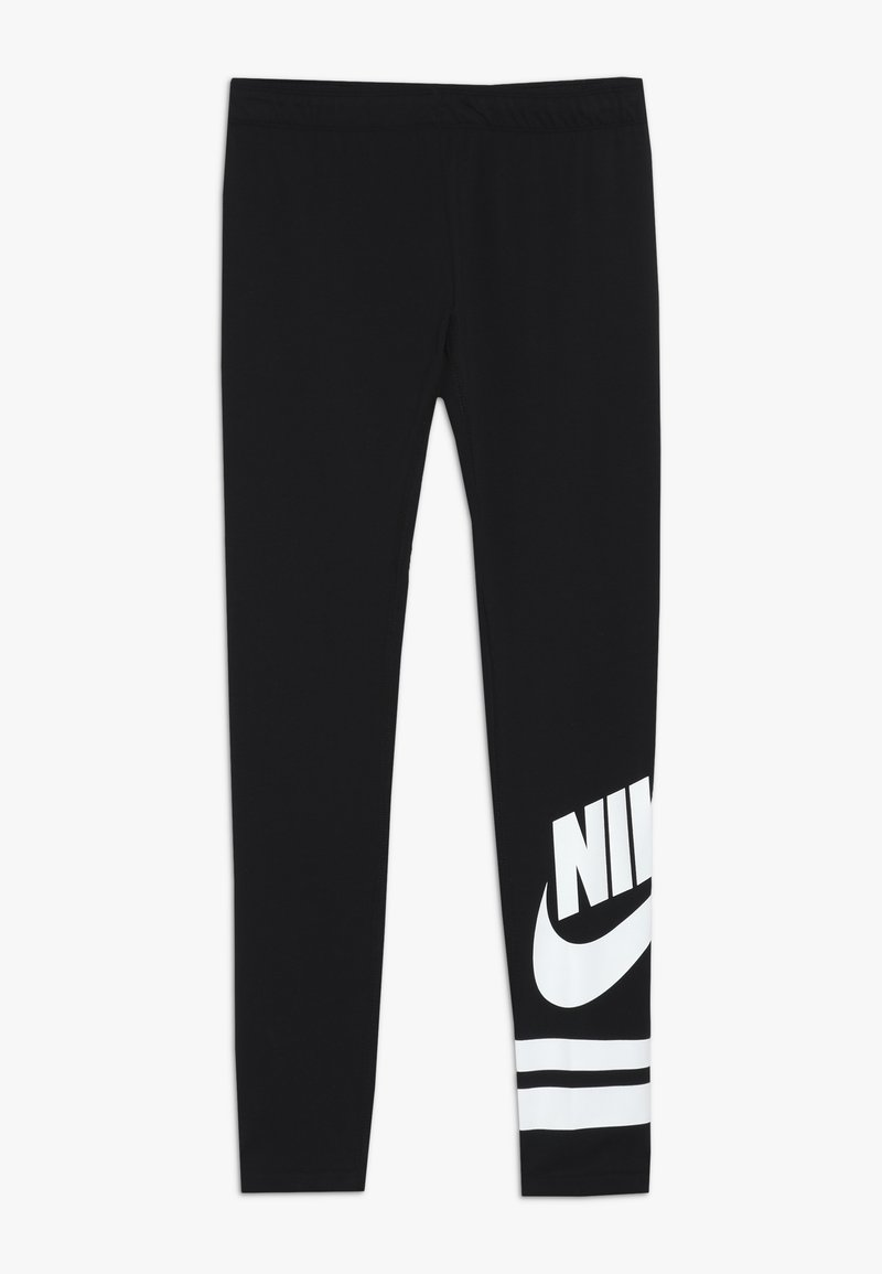 Nike Sportswear - FAVORITE  - Leggings - Trousers - black/white