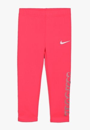 GIRLS JUST DO IT IRIDESCENT - Leggings - Trousers - racer pink