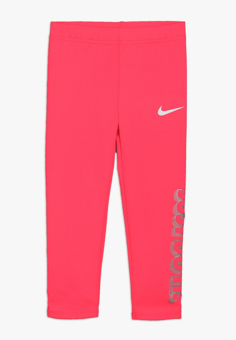 Nike Sportswear - GIRLS JUST DO IT IRIDESCENT - Leggings - Trousers - racer pink