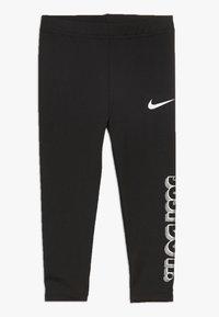 Nike Sportswear - GIRLS JUST DO IT IRIDESCENT - Leggings - black - 0