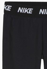 Nike Sportswear - GIRLS DRI FIT PARTY PACK - Legging - dark grey - 4