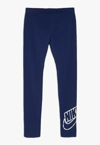 Nike Sportswear - FAVORITES SHINE - Leggings - blue void - 0