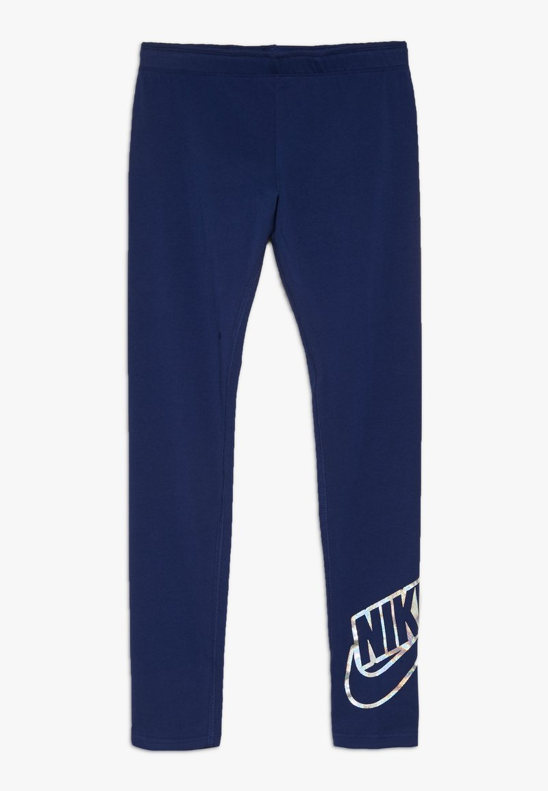 Nike Sportswear - FAVORITES SHINE - Leggings - blue void
