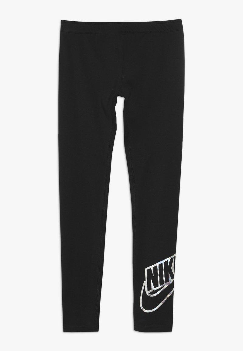 Nike Sportswear - FAVORITES SHINE - Legginsy - black