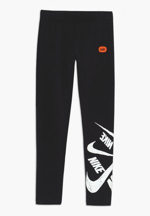 G NSW FAVORITES LEGGNG MARKER - Leggings - Trousers - black/white