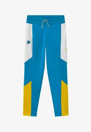 HERITAGE - Trainingsbroek - laser blue/white/speed yellow