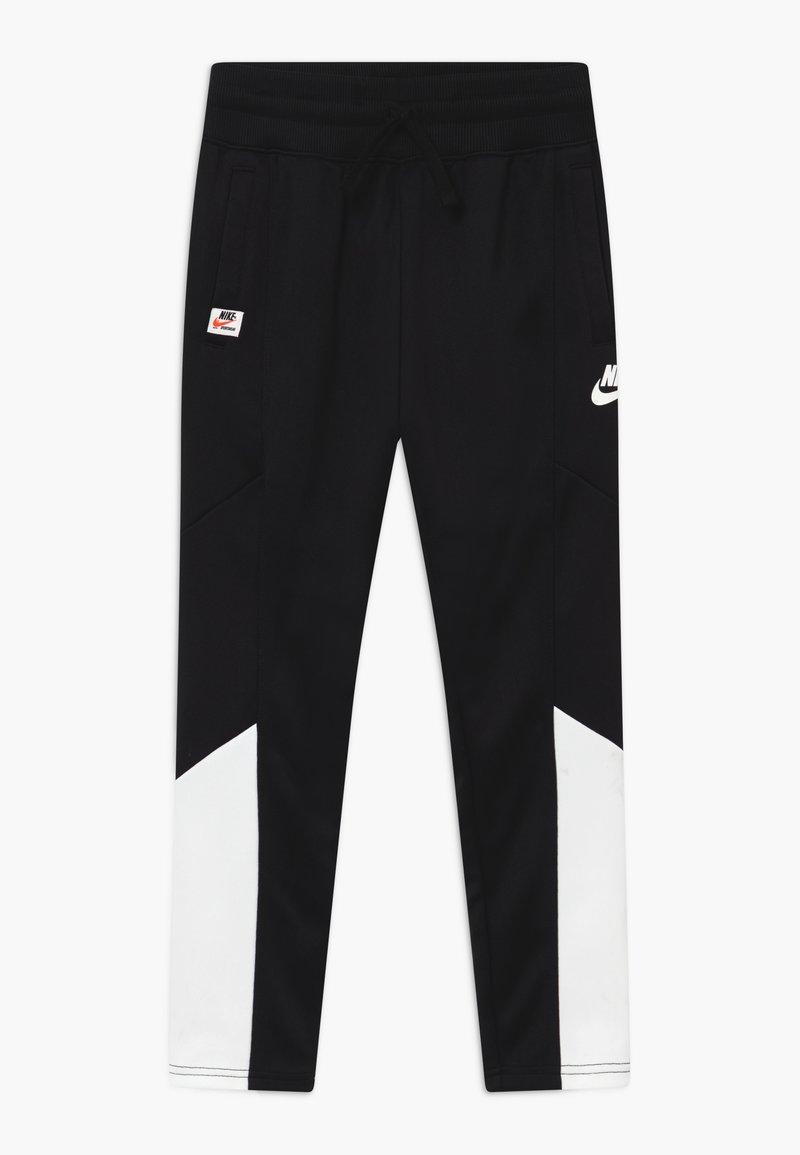 Nike Sportswear - HERITAGE - Teplákové kalhoty - black/white