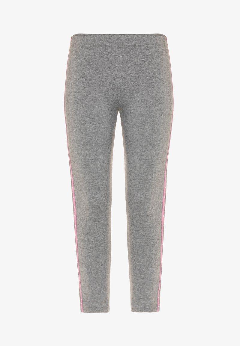Nike Sportswear - AIR FAVORITES - Leggings - Trousers - carbon heather/magic flamingo