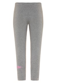 Nike Sportswear - AIR FAVORITES - Leggings - Trousers - carbon heather/magic flamingo - 1