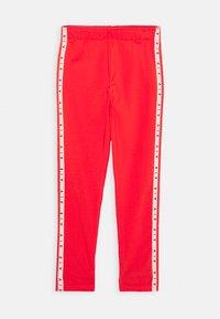 Nike Sportswear - AIR FAVORITES - Leggings - Trousers - light crimson/washed coral - 0