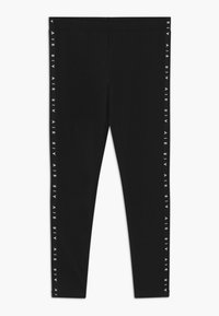 Nike Sportswear - AIR FAVORITES - Legíny - black/white - 0